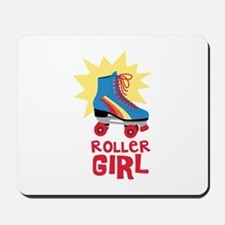 Roller Girl Mousepad