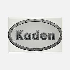 Kaden Metal Oval Magnets