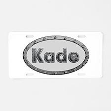 Kade Metal Oval Aluminum License Plate