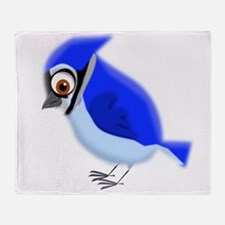 bue jay Throw Blanket