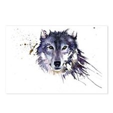 Snow Wolf Postcards (Package of 8)