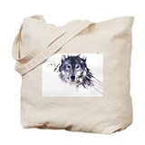 Wolf Regular Canvas Tote Bag