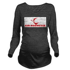 Air Rhodesia Long Sleeve Maternity T-Shirt
