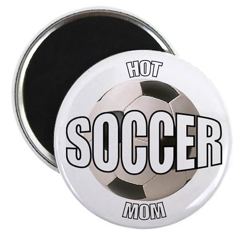 Hot Soccer Mom Magnet