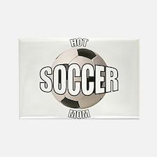 Hot Soccer Mom Rectangle Magnet