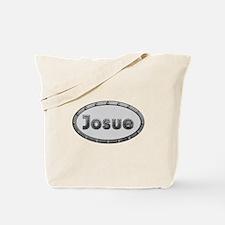 Josue Metal Oval Tote Bag