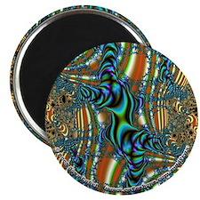 """Fractal C~10 - 2.25"""" Magnet"""