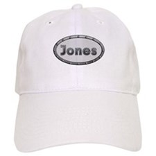 Jones Metal Oval Baseball Baseball Cap