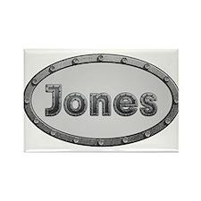 Jones Metal Oval Magnets