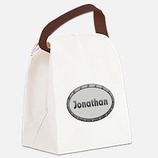Jonathan Metal Oval Canvas Lunch Bag
