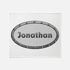 Jonathan Metal Oval Throw Blanket