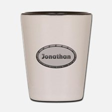 Jonathan Metal Oval Shot Glass