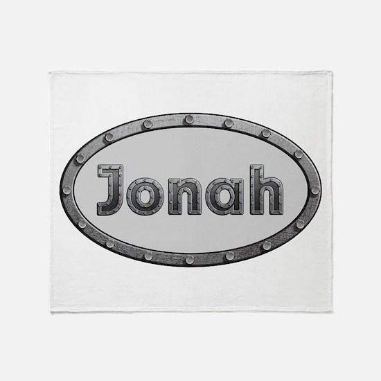 Jonah Metal Oval Throw Blanket