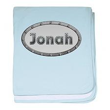 Jonah Metal Oval baby blanket