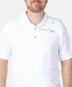 Grandpa To Be (Green Script) Golf Shirt