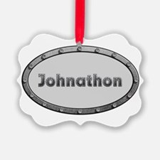 Johnathon Metal Oval Ornament