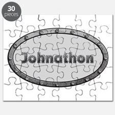 Johnathon Metal Oval Puzzle