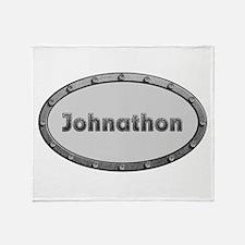 Johnathon Metal Oval Throw Blanket