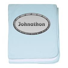 Johnathon Metal Oval baby blanket