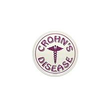 CROHN'S DISEASE Mini Button (10 pack)
