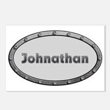Johnathan Metal Oval Postcards (Package of 8)
