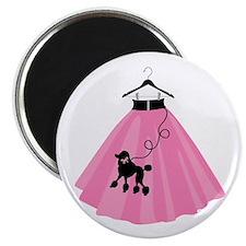 Poodle Skirt Magnets