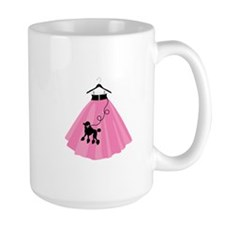 Poodle Skirt Mugs