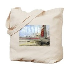 Soar Collage Tote Bag