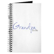 Grandpa To Be (Blue Script) Journal