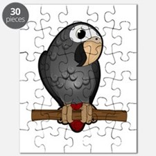Cute Timneh African Grey Puzzle
