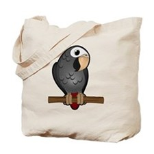 Cute Timneh African Grey Tote Bag