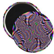 """Fractal C~15 - 2.25"""" Magnet"""