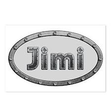 Jimi Metal Oval Postcards (Package of 8)