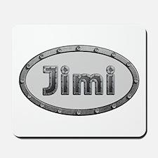 Jimi Metal Oval Mousepad