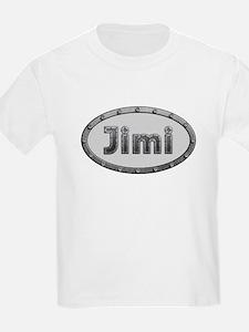 Jimi Metal Oval T-Shirt