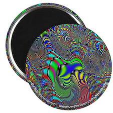 """Fractal C~16 - 2.25"""" Magnet"""