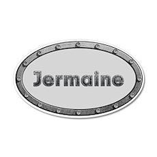 Jermaine Metal Oval Wall Decal