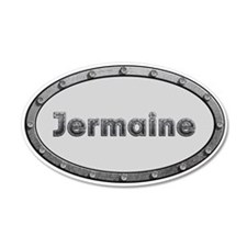 Jermaine Metal Oval Wall Decal