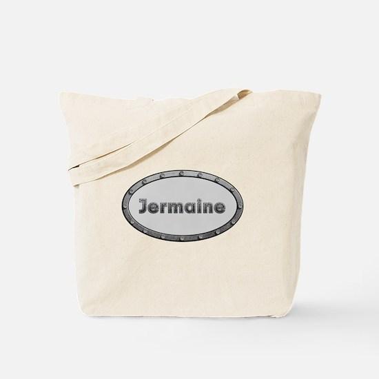 Jermaine Metal Oval Tote Bag