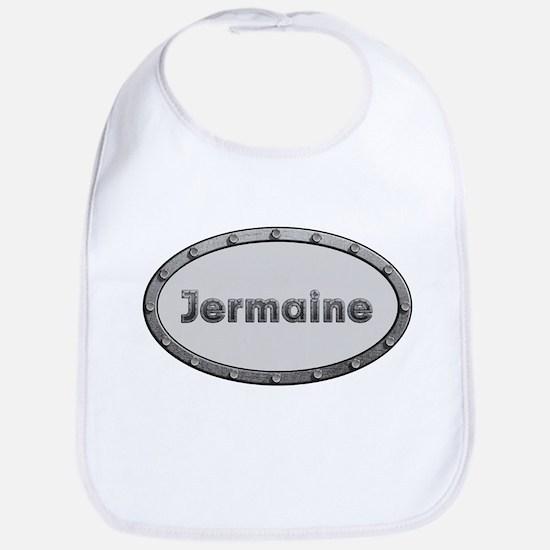 Jermaine Metal Oval Bib
