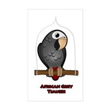 African Grey Timneh Decal
