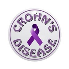 CROHN'S DISEASE Ornament (Round)