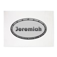Jeremiah Metal Oval 5'x7'Area Rug