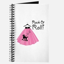 Rock and Roll Poodle Skirt Journal