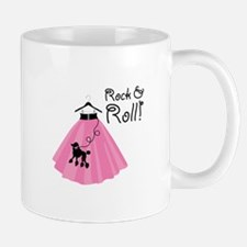 Rock and Roll Poodle Skirt Mugs