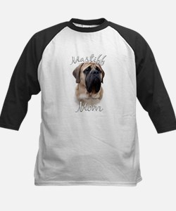 Mastiff(fawn)Mom2 Kids Baseball Jersey