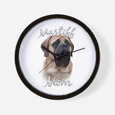 Mastiff(fawn)Mom2 Wall Clock