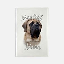 Mastiff(fawn)Mom2 Rectangle Magnet