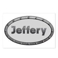 Jeffery Metal Oval Postcards (Package of 8)