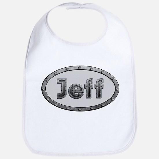 Jeff Metal Oval Bib